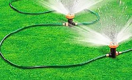 Picture of lawn sprinkler