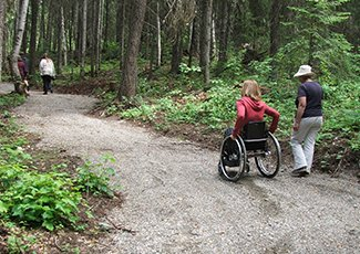 Picture of Sisters Creek accessible trail