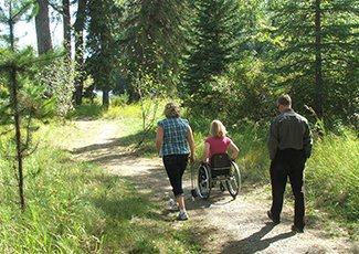 Picture of Horsefly accessible trail