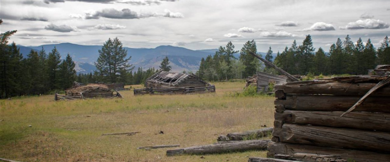 Homestead in the Chilcotin