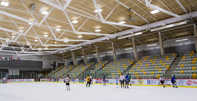 Picture of North Cariboo Recreation Centre ice rink