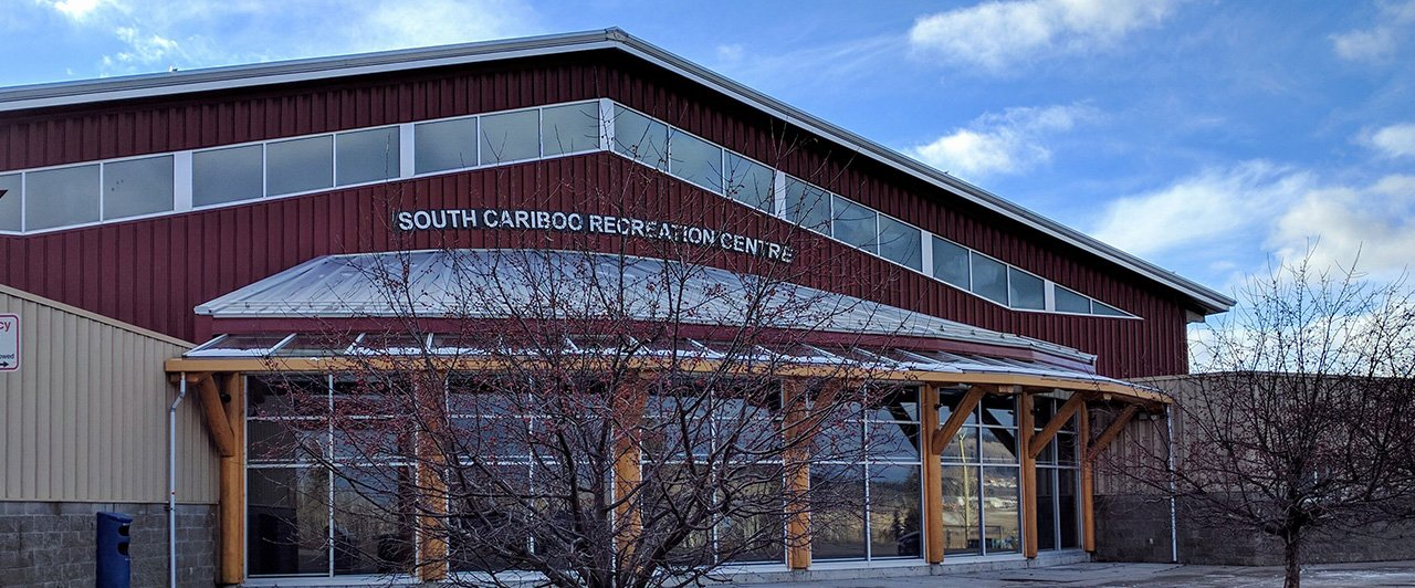 Exterior of South Cariboo Rec Centre