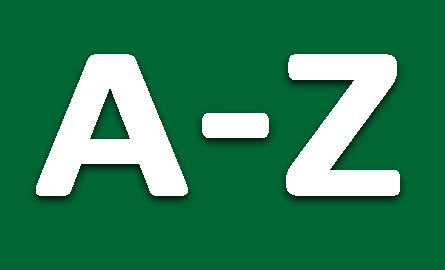 image of letters A and Z